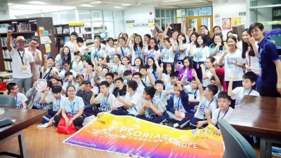 PSORIASIS CAMPUS CARAVAN OF HOPE - Hope Christian High School